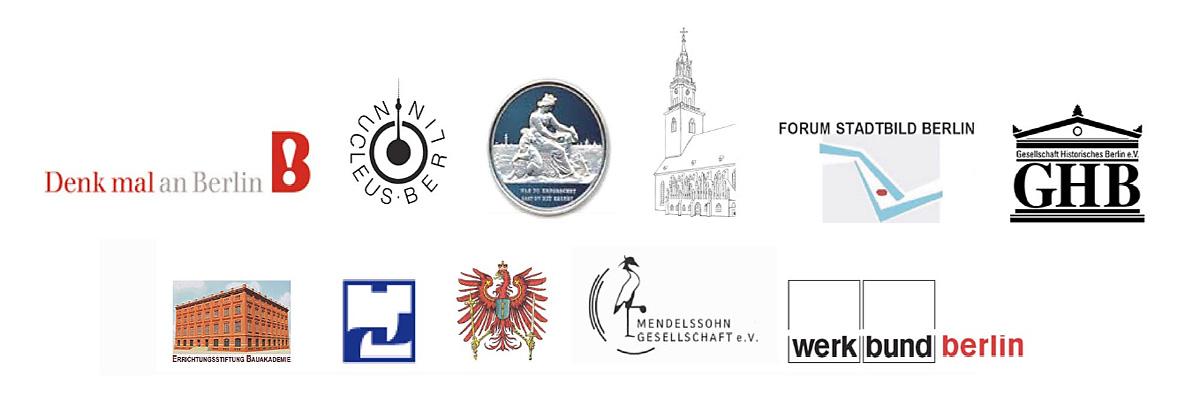 Logos der unterstützenden Institutionen